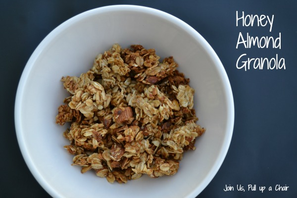 Honey Almond Granola | Join Us, Pull up a Chair