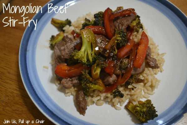 Mongolian Beef Stir-Fry | Join Us, Pull up a Chair