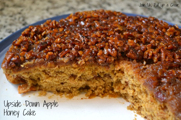 Upside Down Apple Honey Cake | Join Us, Pull up a Chair