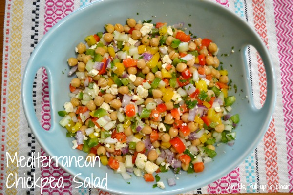 Mediterranean Chickpea Salad | Join Us, Pull up a Chair
