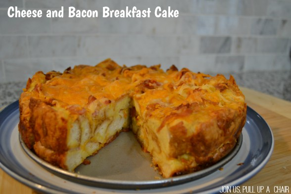 Cheese and Bacon Breakfast Cake | Join Us, Pull up a Chair