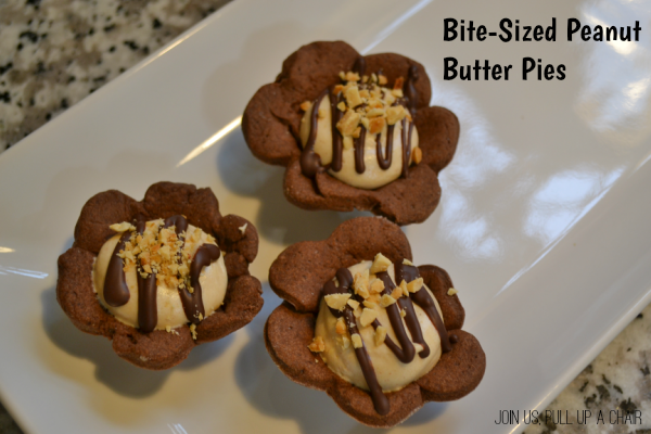 Bite-sized Peanut Butter Pies | Join Us, Pull up a Chair