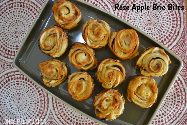 Rose Apple Brie Bites | Join Us, Pull up a Chair