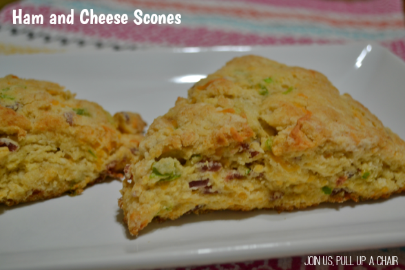 Ham and Cheese Scones | Join Us, Pull up a Chair